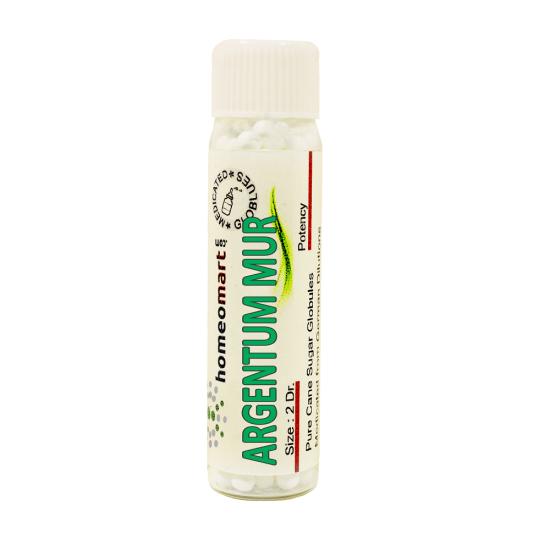 Argentum Muriaticum Homeopathy 2 Dram Pellets 6C, 30C, 200C, 1M, 10M