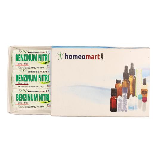 Benzinum Nitricum Homeopathy 2 Dram Pellets 6C, 30C, 200C, 1M, 10M