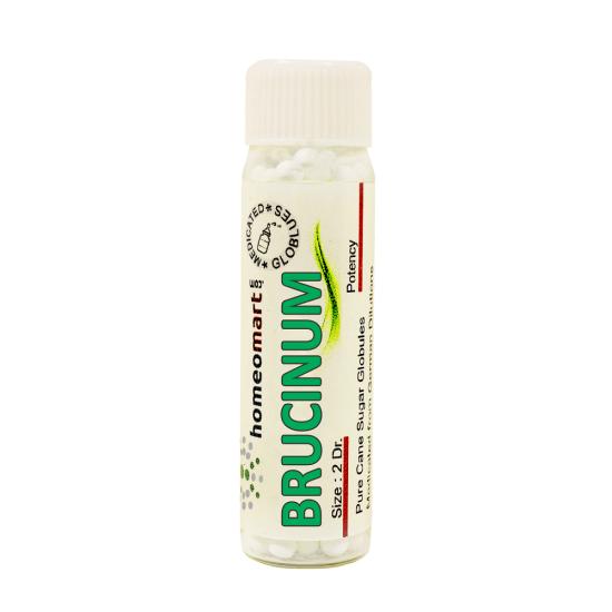 Brucinum Homeopathy 2 Dram Pellets 6C, 30C, 200C, 1M, 10M