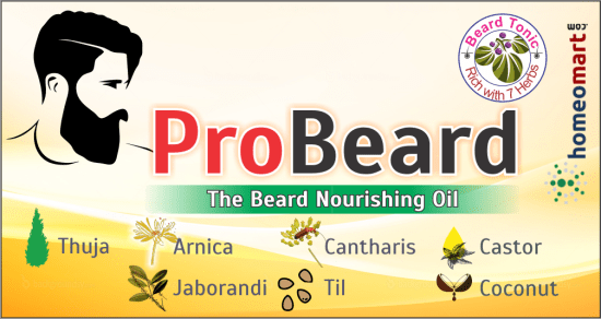 Probeard, Top Beard Growth Oil with 6 herbal oil