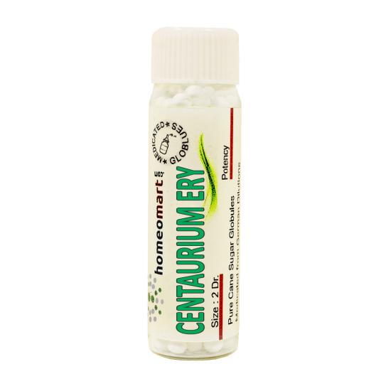 Centaurium Erythraea Homeopathy 2 Dram Pellets 6C, 30C, 200C, 1M, 10M
