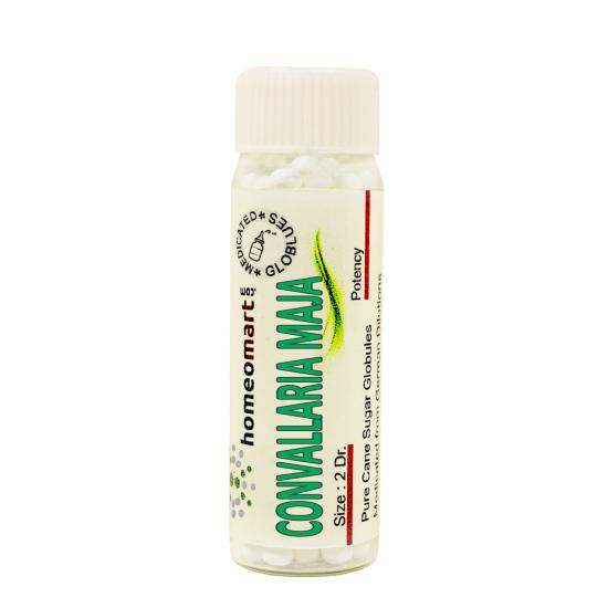 Convallaria Majalis Homeopathy 2 Dram Pellets 6C, 30C, 200C, 1M, 10M