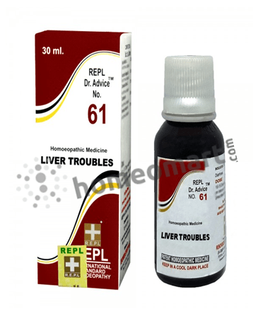 REPL Dr. Advice No 61 for liver troubles