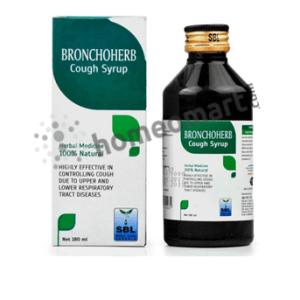 SBL Bronchoherb Cough Syrup for cough, bronchitis, laryngitis & tracheitis
