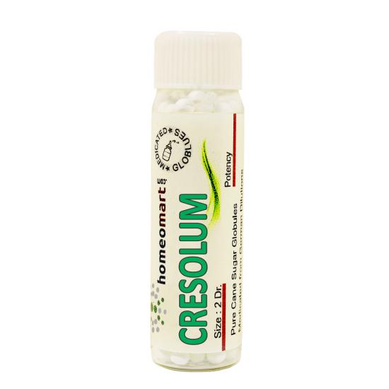 Cresol Homeopathy 2 Dram Pellets 6C, 30C, 200C, 1M, 10M
