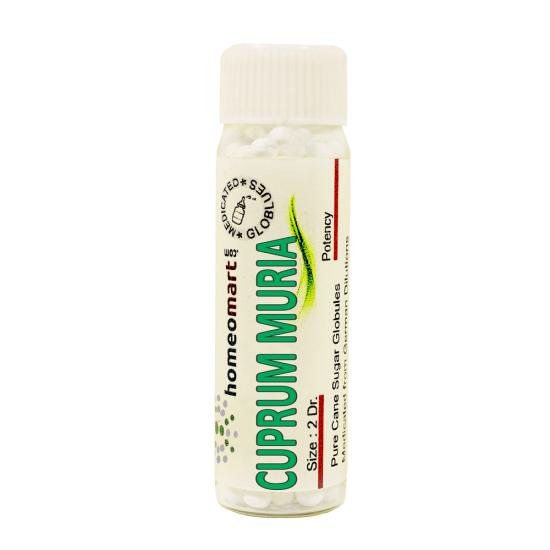 Cuprum Muriaticum Homeopathy 2 Dram Pellets 6C, 30C, 200C, 1M, 10M