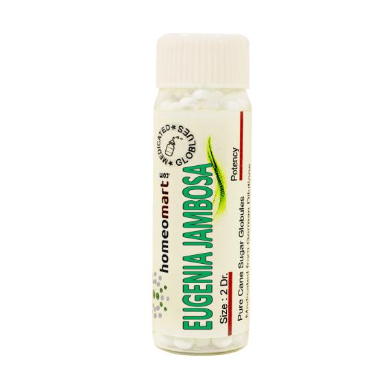 Eugenia Jambosa Homeopathy 2 Dram Pellets 6C, 30C, 200C, 1M, 10M
