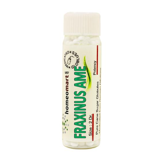 Fraxinus Americana Homeopathy 2 Dram Pellets 6C, 30C, 200C, 1M, 10M
