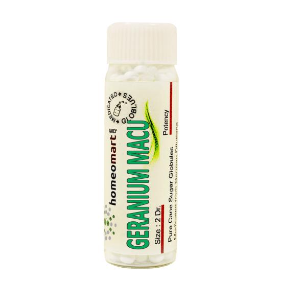 Geranium Maculatum Homeopathy 2 Dram Pellets 6C, 30C, 200C, 1M, 10M