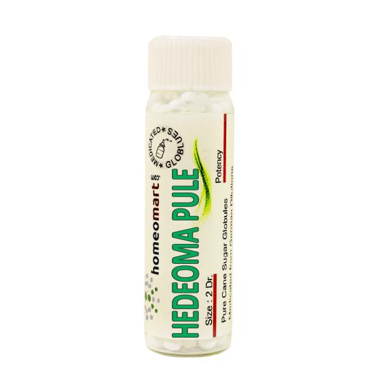 Hedeoma Pulegioides Homeopathy 2 Dram Pellets 6C, 30C, 200C, 1M, 10M