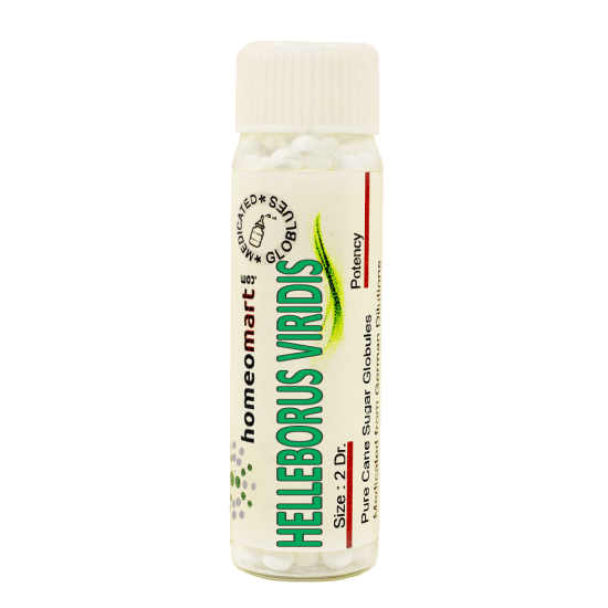 Helleborus Viridis Homeopathy 2 Dram Pellets 6C, 30C, 200C, 1M, 10M