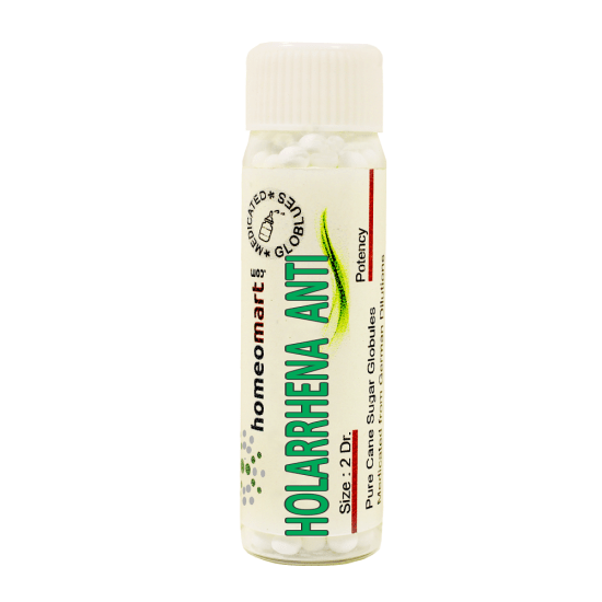 Holarrhena Antidysenterica Homeopathy 2 Dram Pellets 6C, 30C, 200C, 1M, 10M