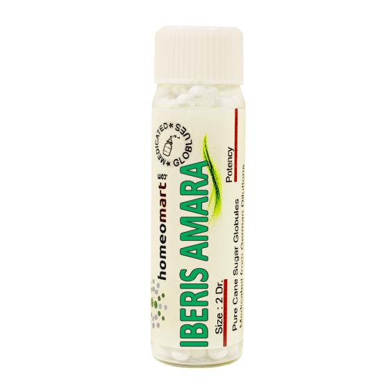 Iberis Amara Homeopathy 2 Dram Pellets 6C, 30C, 200C, 1M, 10M