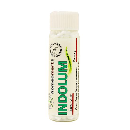 Indolum Homeopathy 2 Dram Pellets 6C, 30C, 200C, 1M, 10M
