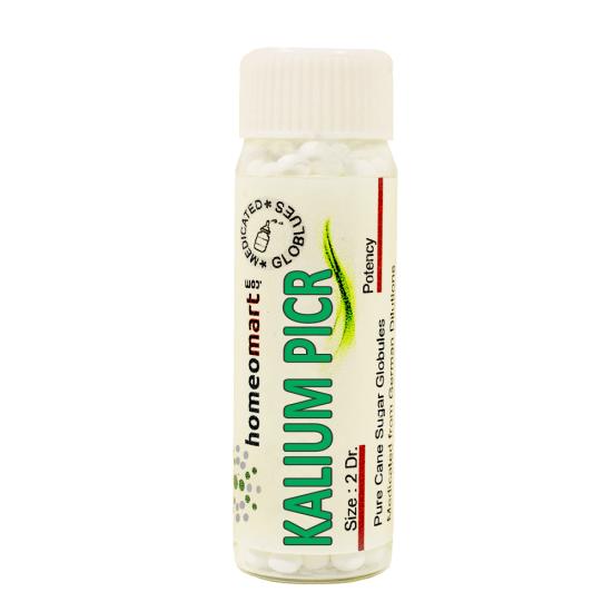 Kalium Picricum Homeopathy 2 Dram Pellets 6C, 30C, 200C, 1M, 10M
