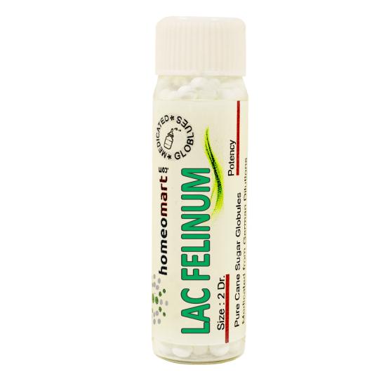 Lac Felinum Homeopathy 2 Dram Pellets 6C, 30C, 200C, 1M, 10M