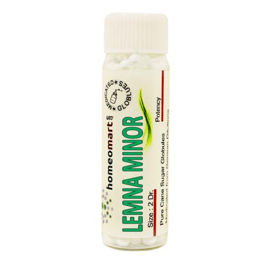 Lemna Minor Homeopathy 2 Dram Pellets 6C, 30C, 200C, 1M, 10M