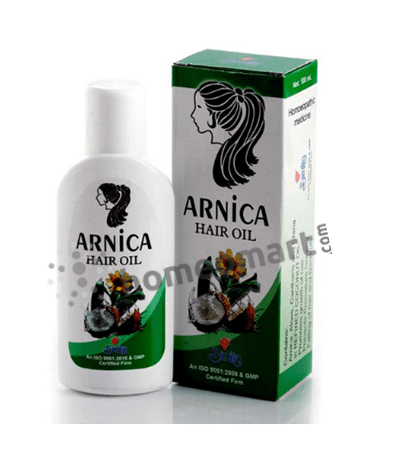 Similia Arnica Hair Oil for premature graying and hairfall