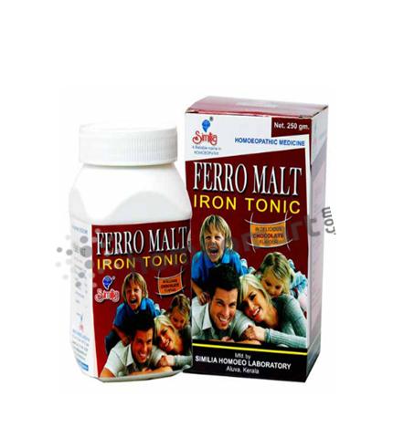 Similia Ferro Malt Iron Tonic for Anaemia and Weakness