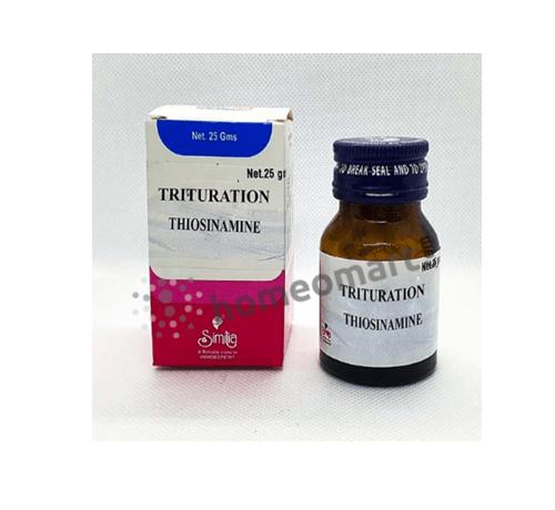 Similia Thiosinamine Trituration 3X, 6X tablets for dissolving scar tissue, tumors, enlarged glands