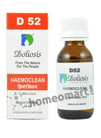 Doliosis D52 for Haemoclean