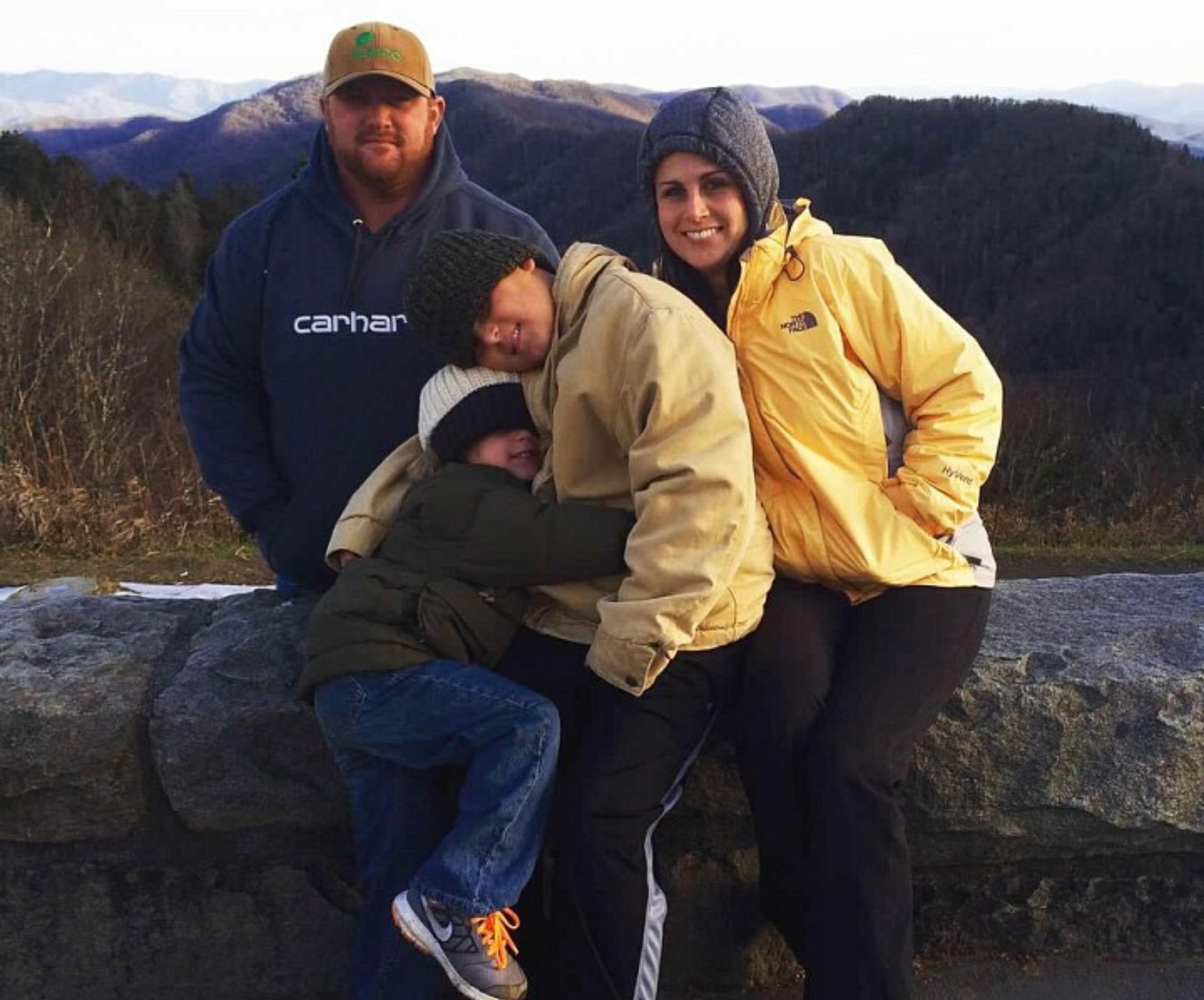 newfound gap, family