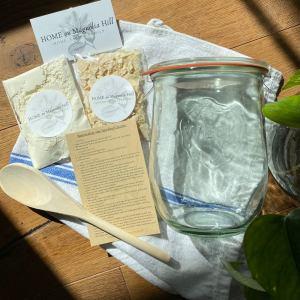 valentine's day gift for the beginner homesteader sourdough starter kit