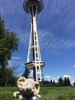 Tantor with Space Needle
