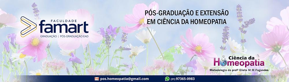 Curso de Pós-graduação Especialização em Ciência da Homeopatia – Famart