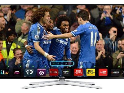 "55"" Samsung, Flat Full HD TV H6400 6 Series-0"