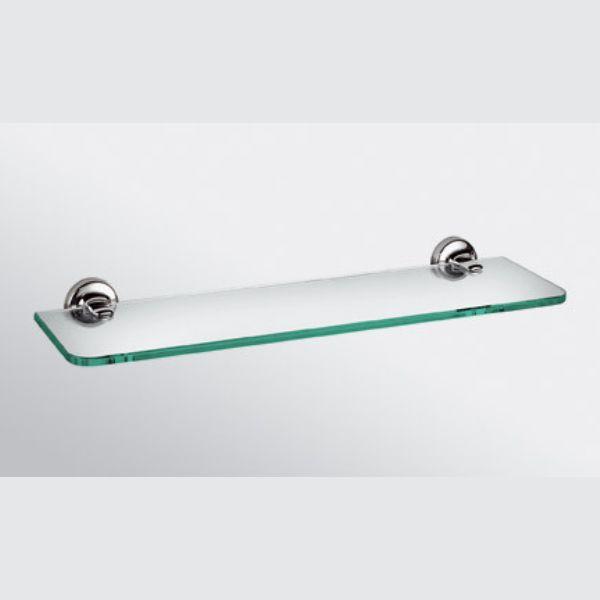 E-Plus Glass Shelf 500mm Chrom