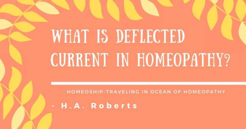 What is Deflected Current in Homeopathy? - H.A. Roberts