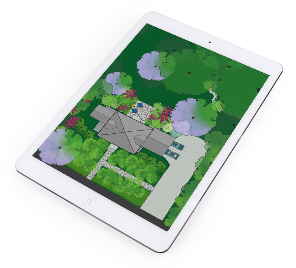 Home Outside: The Best FREE Landscape Design App!