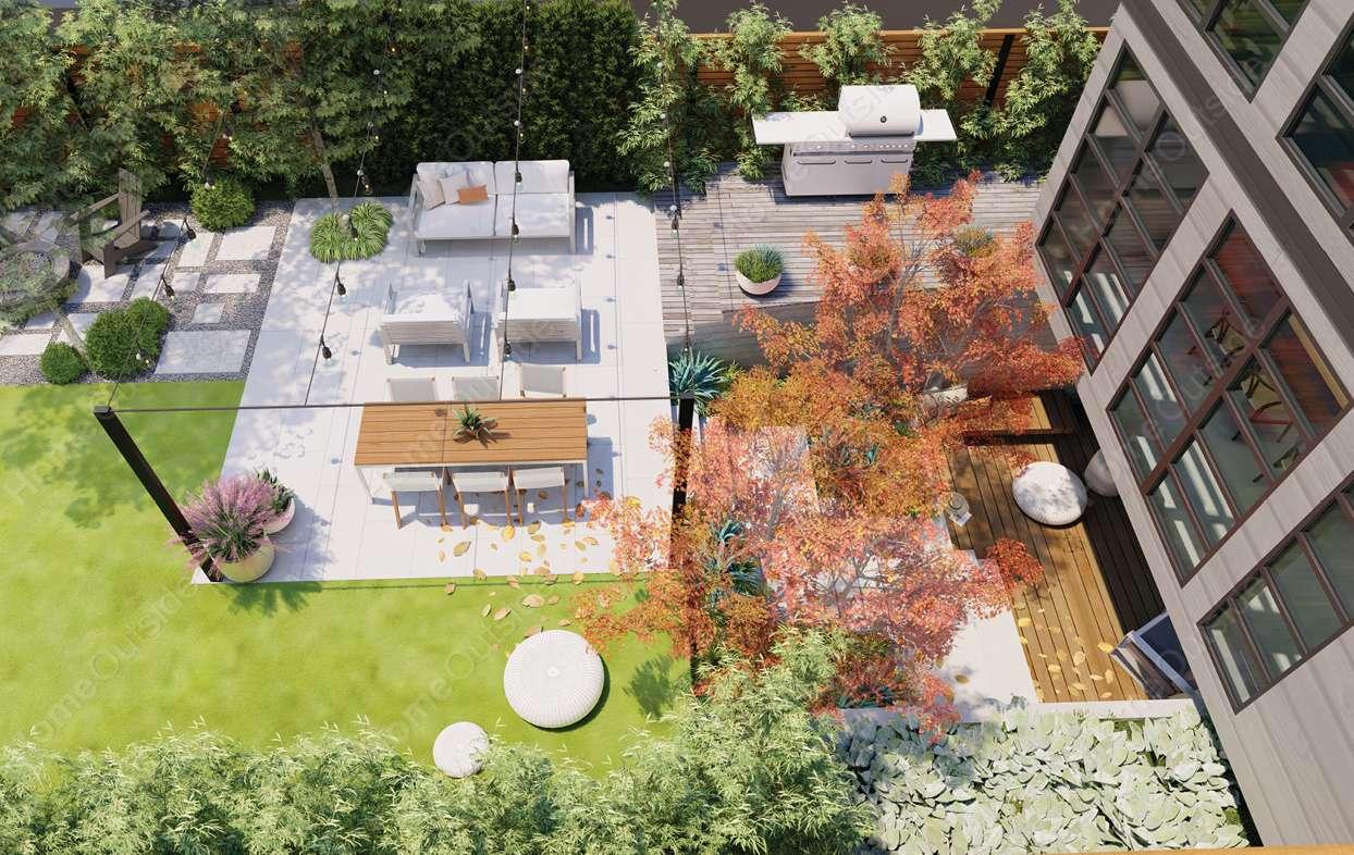 Full Property Design Custom Landscape Design Plan