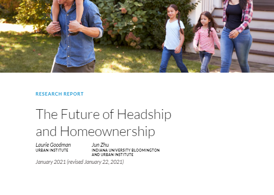 Recent Report on Homeownership Disparity