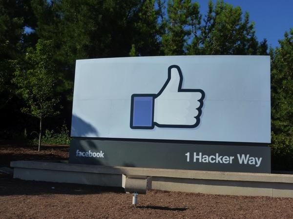 Facebook本社にバスを使っていく予定がハプニング発生で、すべて徒歩で行くことになった