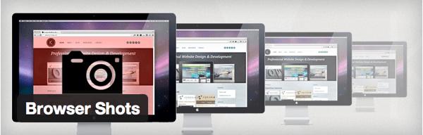 WEBサイトを紹介するのに使える「Browser Shots」