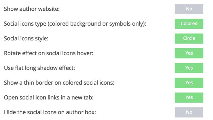 Simple Author Boxのカスタマイズ設定2