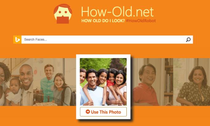 顔写真が何歳に見える診断してくれる「How−Old.net」