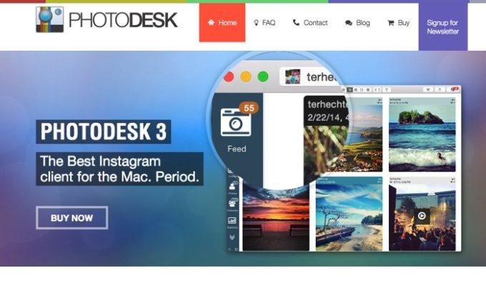 パソコンでインスタグラムを見るなら「PhotoDesk」がオススメ!