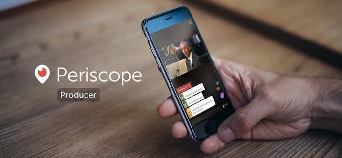 PCなどから配信できる「Periscope Producer」