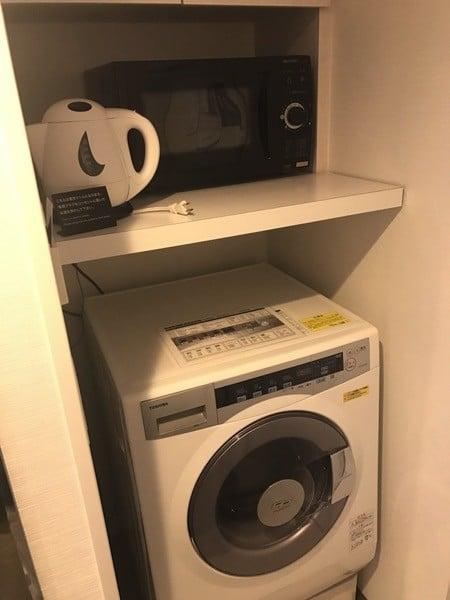 東急ステイ青山プレミアの洗濯機