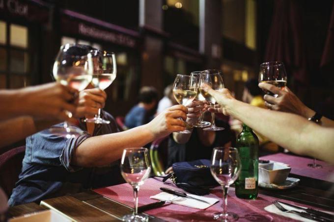 レストランの快適度に対する評価