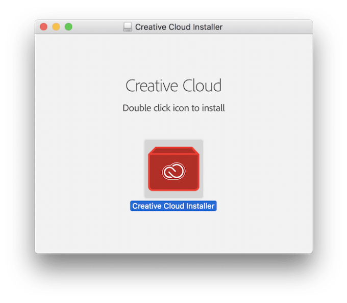 Creative CloudをPCにインストール
