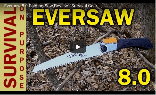 The EverSaw 8.0 reviewed by Survival On Purpose