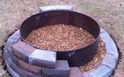 Fire Pit in the works