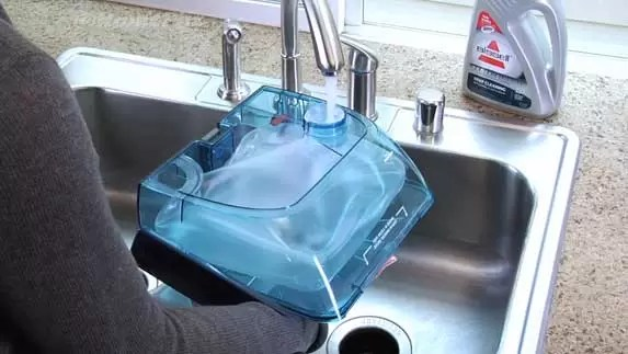 how-to-use-bissell-proheat-pet-upright-deep-cleaner-shrink