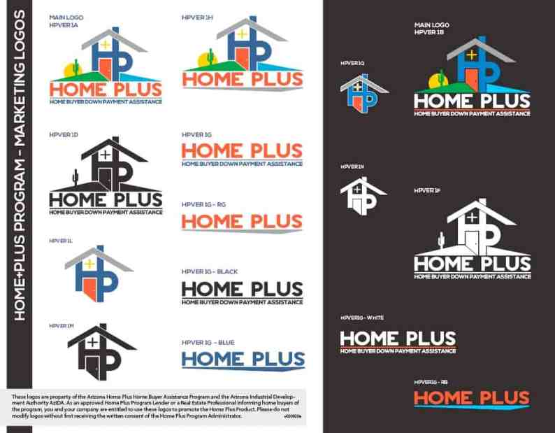 Home Plus Logos For Marketing Use