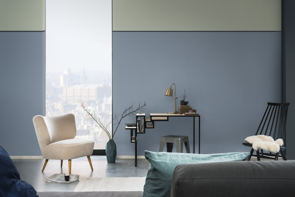 akzonobel denim drift living room