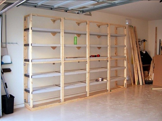 Building Shelves in Garage, Installation Tips   Home Interiors